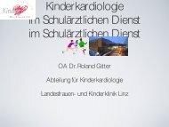 Kinderkardiologie im schulärztlichen Dienst