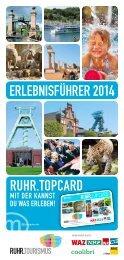 RUHR.TOPCARD Erlebnisführer 2014