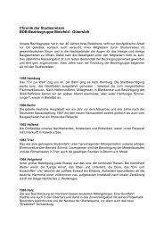 Chronik der Studienreisen BDB-Bezirksgruppe Bielefeld ... - BdB OWL