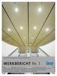 Werkbericht 1 - bei Knauf Integral