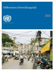 Millenniums-Entwicklungsziele - Bericht 2010 (PDF)