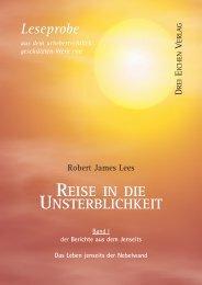 Leseprobe_Lees-UNSTERBLICHKEIT Bd1.qxp - Drei Eichen Verlag