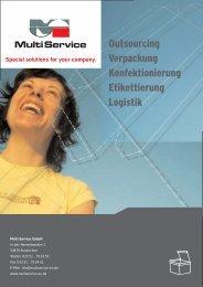 Informationen als PDF - Multi Service GmbH