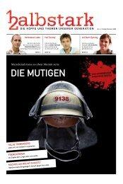 HALBSTARK: Die Mutigen (Web-Ansicht)