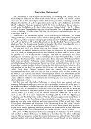 Blatt 1: Was ist das Christentum