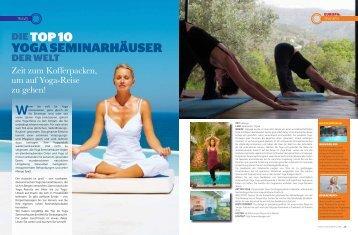 DIETOP 10 YOGA SEMINARHÄUSER - ONEWORLD retreats