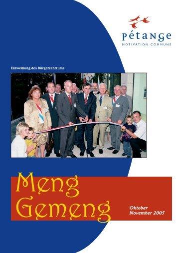 Oktober November 2005 - Pétange