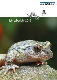 Jahresbericht 2012 - Nature & Economie