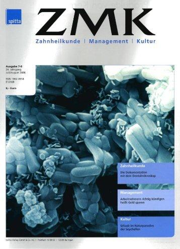 ZMK (Zahnheilkunde/Management/Kultur)