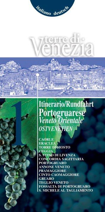 Portogruarese - Assessorato al Turismo della Provincia di Venezia