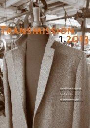 Transmission 1/2013 als Download...