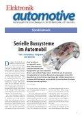 Serielle Bussysteme im Automobil - Vector - Seite 3