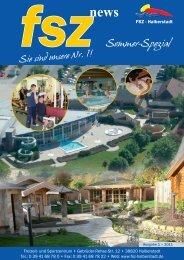 Sommer-Spezial - Freizeit- und Sportzentrum Halberstadt
