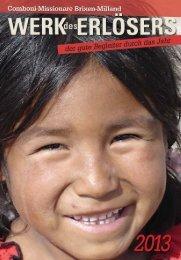 Kalender 2013.indd - Comboni-Missionare