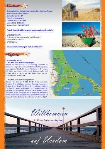 Laden Sie bitte den Flyer der Ferienwohnung hier als .pdf herunter ...