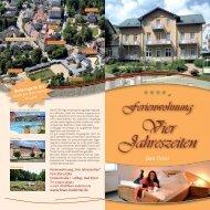 Bad Elster - Hotel-Pension Vier Jahreszeiten