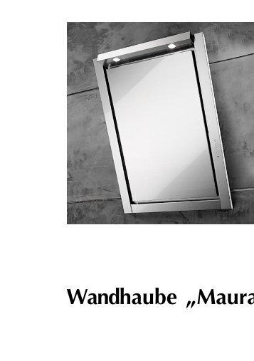 Bedienungsanleitung lesen - Dunstabzugshauben-Shop