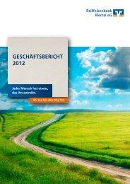 Geschäftsbericht 2012 - Raiffeisenbank Illertal eG