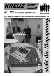 November / Dezember - Kreuzbund Kreisverband Düsseldorf