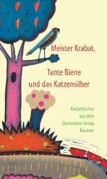kinder dt inhalt.indd - Domowina-Verlag Bautzen