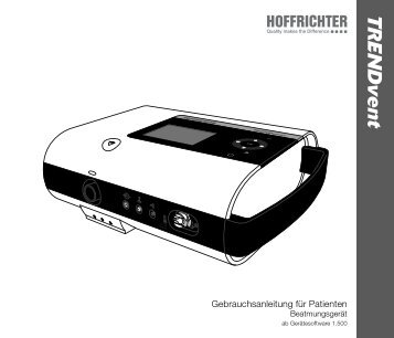 PDF - TRENDvent Version 1.500 - Hoffrichter