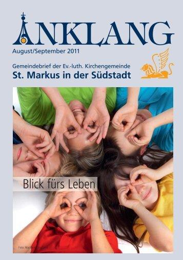 Blick fürs Leben - St. Markus
