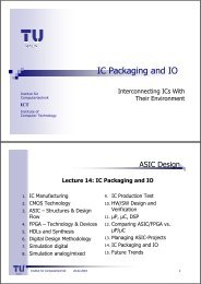 IC Packaging and IO - UCSD VLSI CAD Laboratory