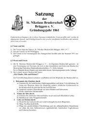 Satzung Stand 29.01.2010 endgültig WK - St. Nikolaus Bruderschaft