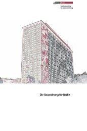 Informationsbroschüre zur Bauordnung für Berlin