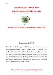 Demokratische Vereinigung für Flüchtlinge (DVF)
