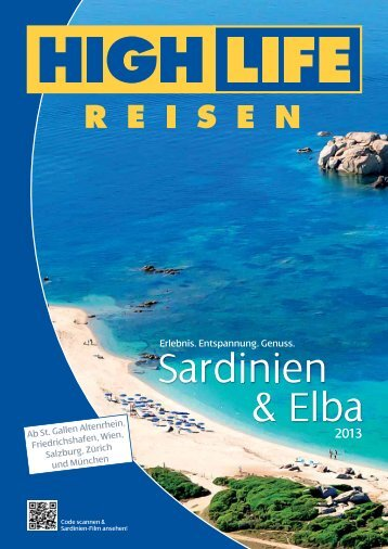 Sardinien & Elba - Highlife Reisen
