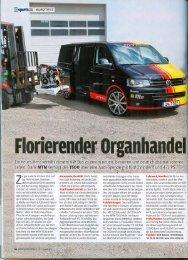Autobild (1/2013) Florierender Organhandel - MTM