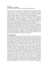 """1 Peter Uetz Alte Bücher - neue Technik Das Projekt """"Historische ..."""