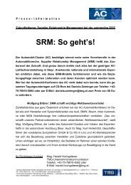 Download: Medieninfo vom 06.06.2003: SRM: So geht's!. - TMG
