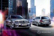 Das Prospekt der C-Klasse Limousine und T-Modell/Kombi (W/S204) von Mercedes-Benz.