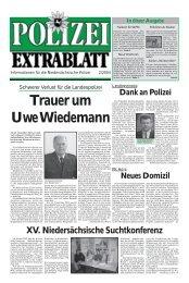Polizei-Extrablatt, Ausgabe Februar 2004 - Niedersächsisches ...