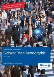 Globaler Trend: Demographie - DIA