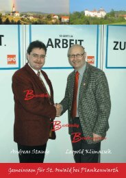 Andreas Staude Leopold Klimacsek Gemeinsam ... - sanktoswald.at