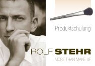 Make up Produkte Informationen.pdf - STEHR Cosmetics AG