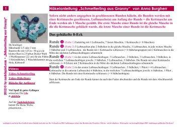 Anleitung *Schmetterling* als PDF-Datei zum Download - Nadelspiel