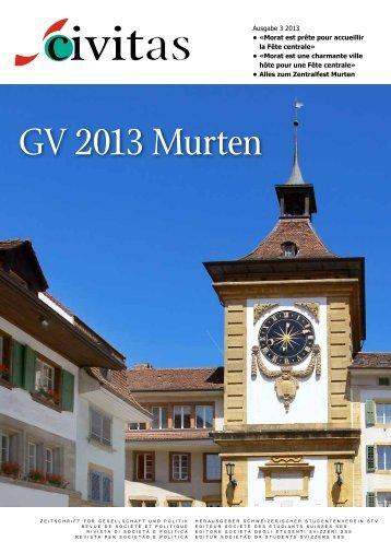 GV 2013 Murten - Schw. StV