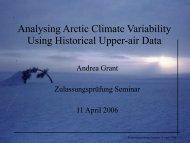 Andrea Grant - NCCR Climate