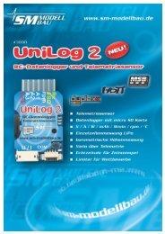 SM Anleitung UniLog 2 v1.05 - RC-Toy
