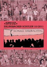 Erlinsbacher Schulblatt - Schnitz & Schwatz