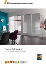 Durchblickfenster - Hormann