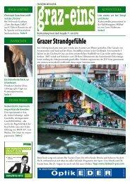graz-eins Nr. 77, Juni 2010