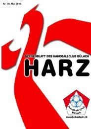 Harz Nummer 35 - HC Bülach