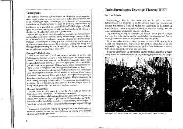 Transport Turistforeningens Usynlige Tjenere (TUT)