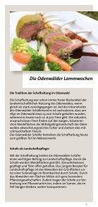 Odenwälder Lammwochen - Odenwald - Seite 5