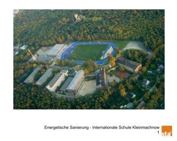Energetische Sanierung - Internationale Schule Kleinmachnow 1
